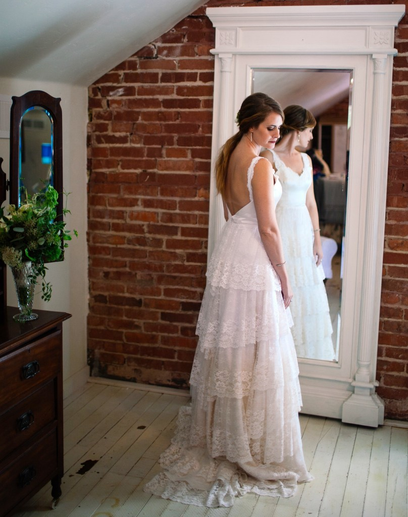 Amber wedding gown lace ruffled heirloom janay a