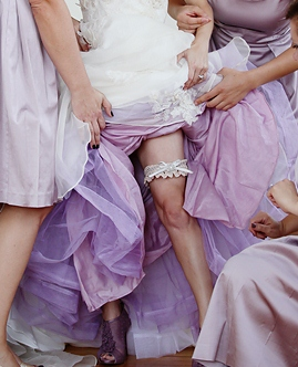 Cary's Purple Custom Dyed Petticoat