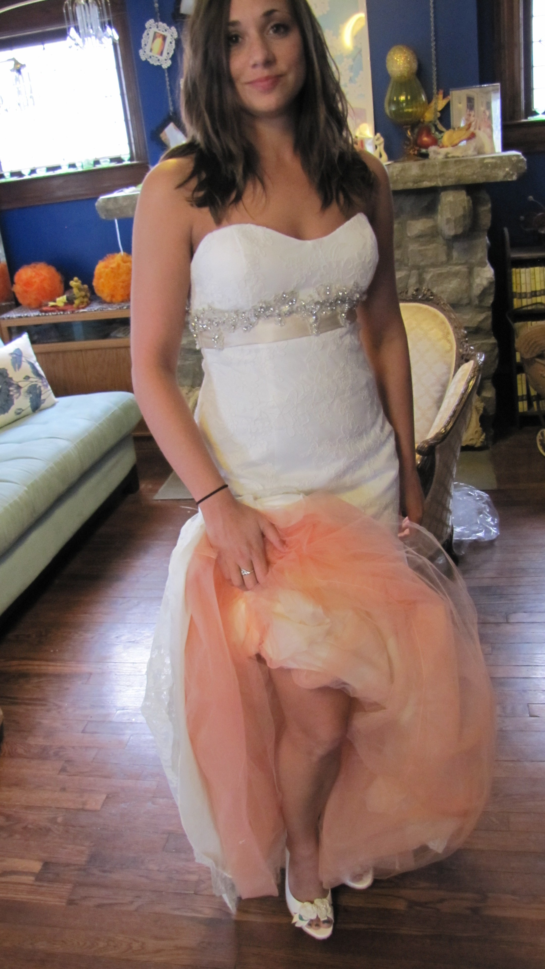 Laura's Custom Dyed Underskirt