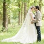 Rachel sheath wedding gown crop