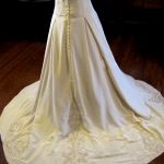 Jecca's Custom Beaded Ballgown