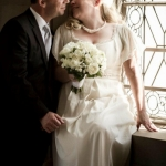 Jen's Organic Cotton and Lace Gown