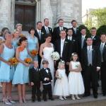 Mary;s custom Tiffany Blue Bridesmaids
