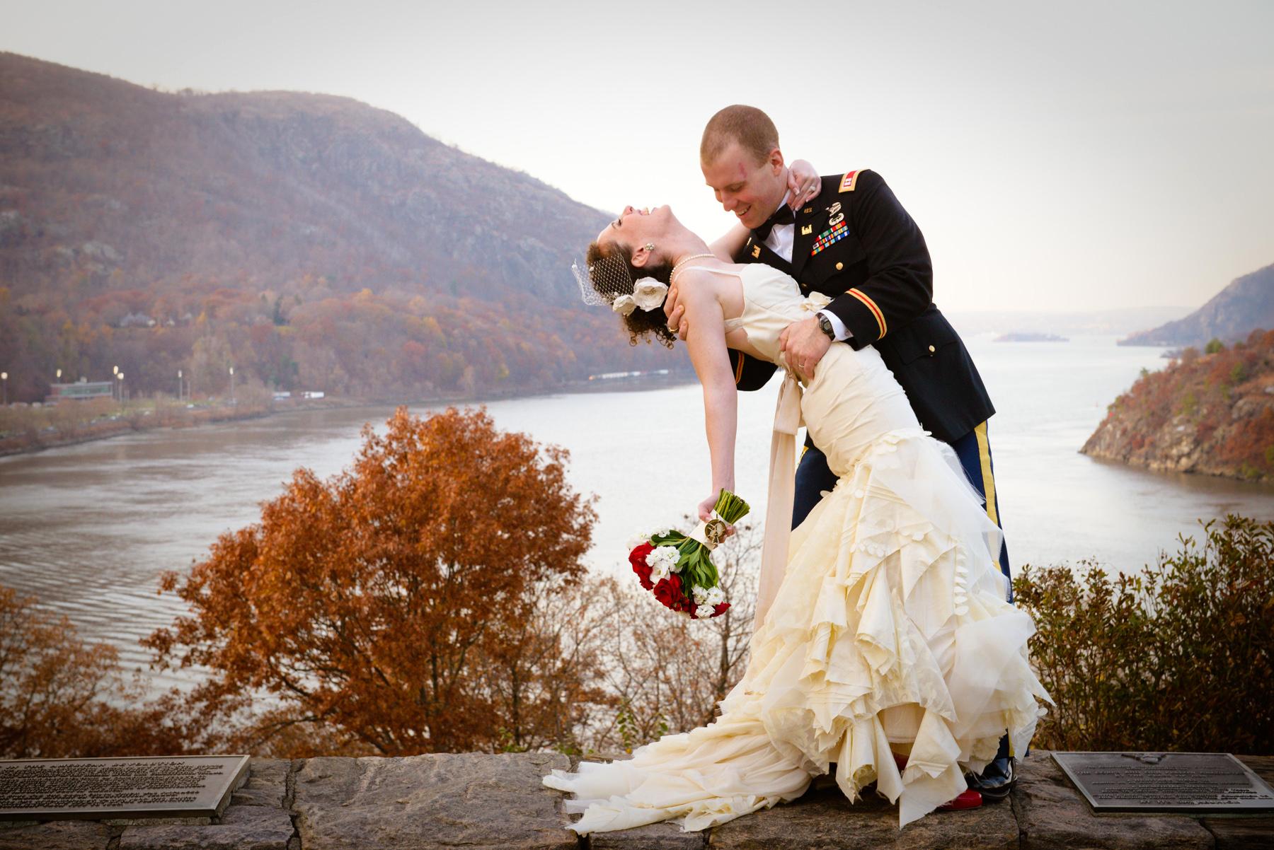 Moira Kansas City real wedding textured ruffled hem wedding gown