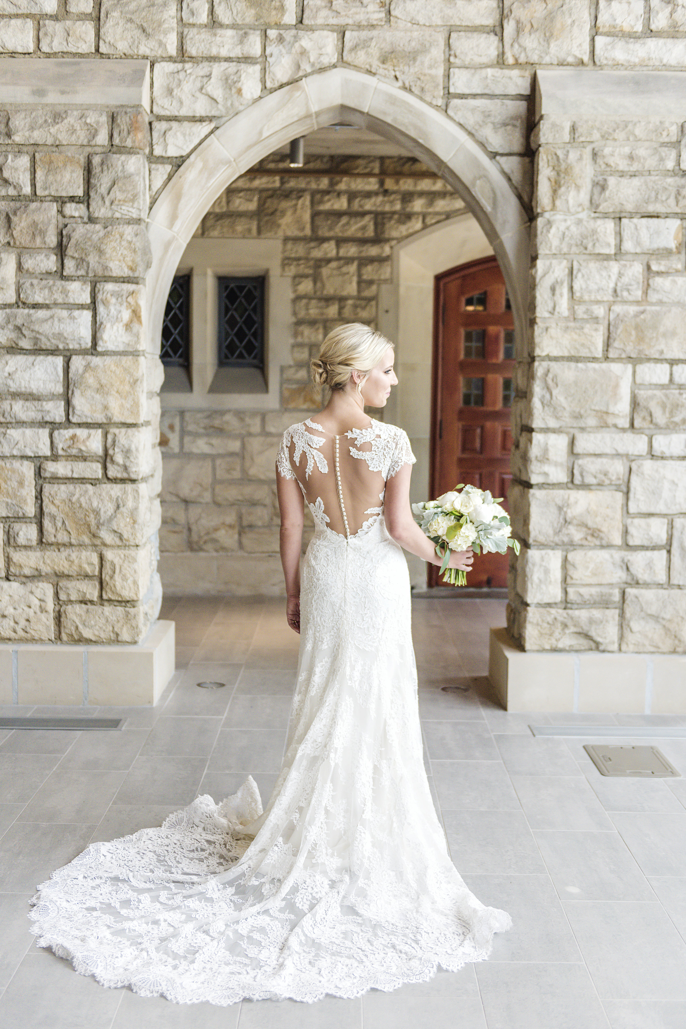 bridal gown styles 2019 new kansas city sheer lace back