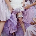 Cary's Purple Custom Dyed Petticoat