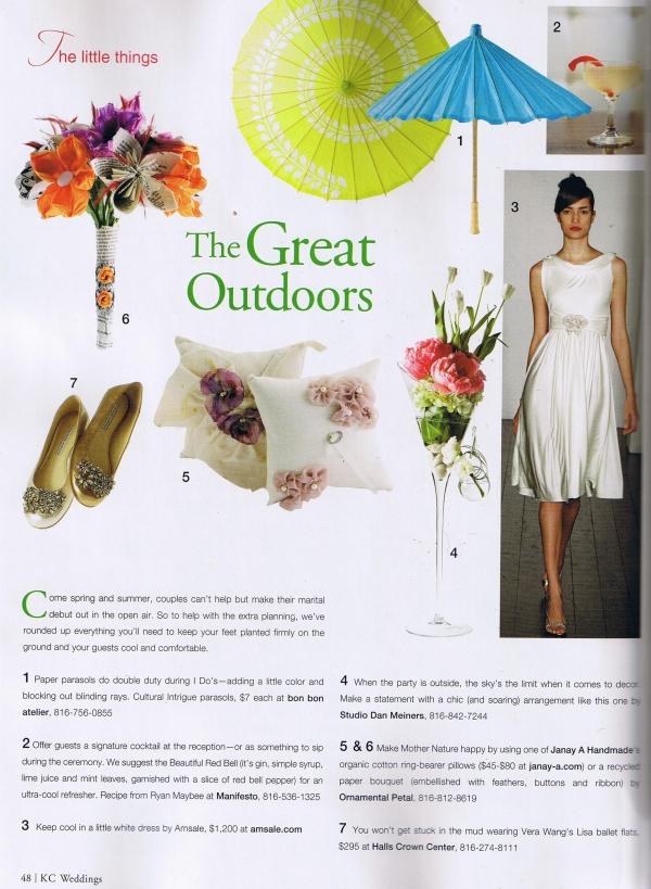 KC Wedding Guide - SpringSummer2010 Ring Bearer Pillow