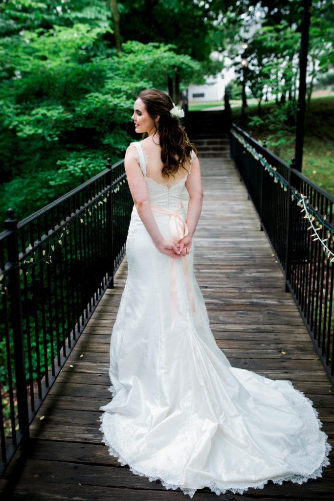 Sarah Mountray Gown low back, kansas city hawthorne house